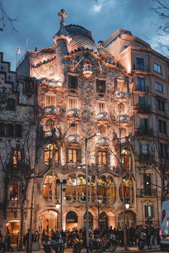 Gaudi Highlights CASA BATLLO