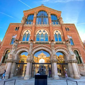 Hospital Sant Pau Barcelona the number 1 and biggest modernist compound you visit in the capital of Catalonia.