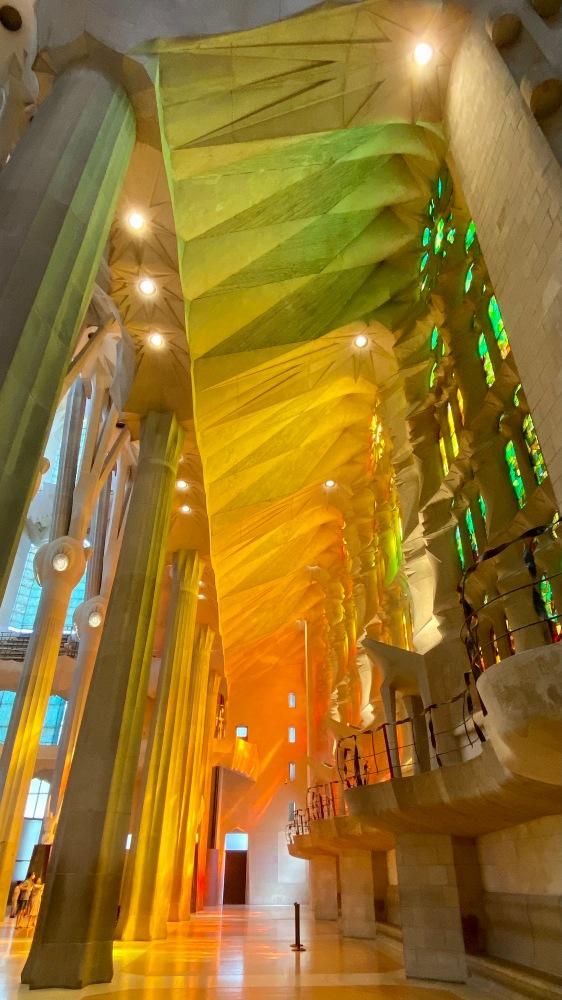 Sagrada Familia since 1882 mesmerizing everyone who visit it!