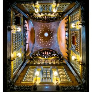 Palau Güell, a work from Gaudí that will surprise you.