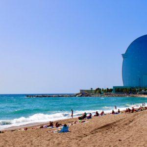 Barceloneta, embrace a window to the Mediterranean Sea.