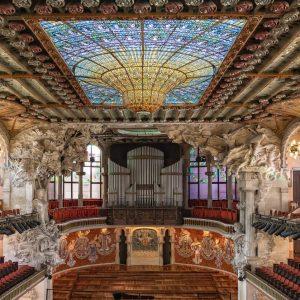 Enjoy the concerts at the Palau de la Música Catalana