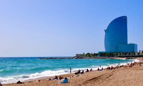 Barceloneta, a window to the Mediterranean Sea.