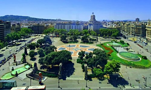 Plaça de Catalunya, come and discover Barcelona City Center