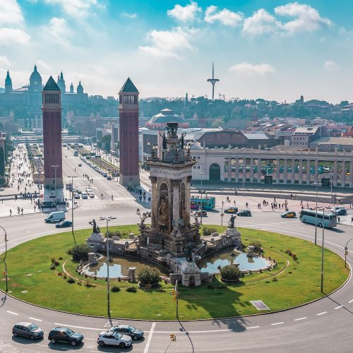 What to do in Barcelona by days - PLAZA DE ESPAÑA